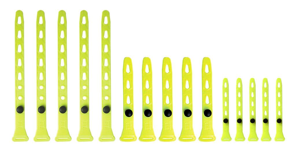 Trio – 15 Black Strap (5X 5, 8 & 14) Yellow